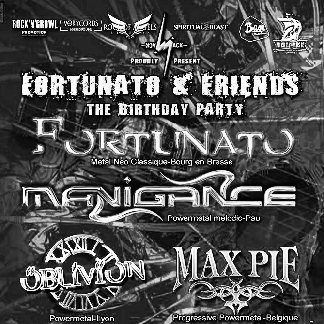 Fortunato & Friends - The Birthday Party